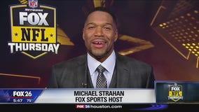 Michael Strahan talks Colts vs. Texans matchup