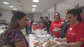 Manvel community outreach hosts Thanksgiving community feast
