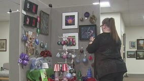 Unique gifts available at Christmas gift gallery at Art Center of Baytown