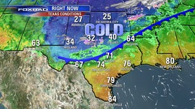 Sleet, flurries possible as cold front blows into Houston