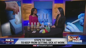 How to keep yourself from getting sick at work