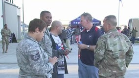 Texans and USO Houston celebrate Salute to Service Week