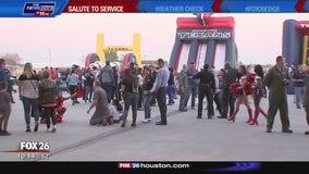 Bayou City Buzz: Texans Salute to Service Week