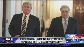 Presidential impeachment inquiry hearings are set to begin Wednesday