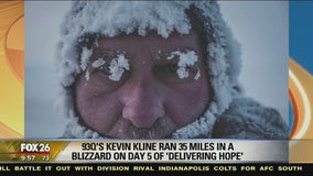 A blizzard on Day 5 of Delivering Hope!