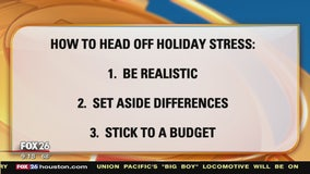 Nine tips to head off holiday stress