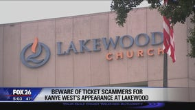 Beware of ticket scams ahead of Kanye's concert at Lakewood Church