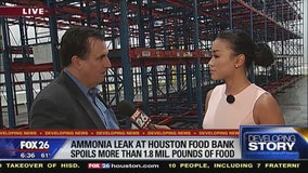 Houston Food Bank loses 1.8M pounds of food