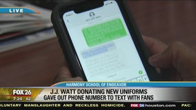 How to text with Texans star J.J. Watt