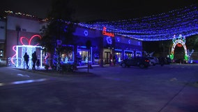 Tampa Chick-fil-A lights up yearly Christmas wonderland