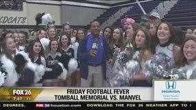 Tomball Memorial High School has Friday Football Fever
