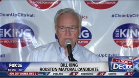 Mayoral candidate Bill King holds watch party near the Heights