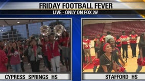 Cypress Springs HS and Stafford HS have got Friday Football Fever