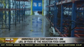 Houston Food Bank loses 1.8M pounds of food to ammonia leak