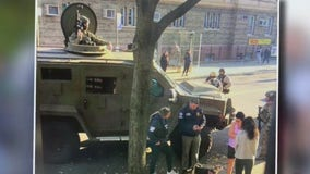 New Yorkers frightened after ICE rolls through neighborhood in armored tank