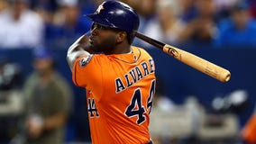 Astros' Yordan Álvarez wins American League Rookie of the Year Award