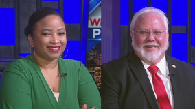 Houston City Council At-Large runoff candidates Michael Kubosh and Janaeya Carmouche in the hot seat