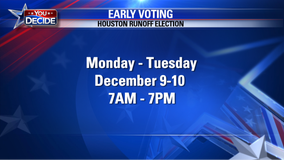 Early voting continues for Houston's December runoff election