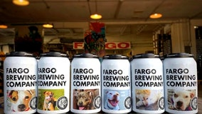 North Dakota brewery is putting shelter dogs on its beer cans