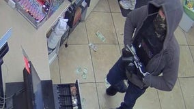 Help identifying suspect in armed robbery at Katy-area gas station
