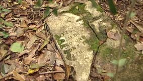 Forgotten cemetery uncovered in Conroe