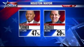 Houston mayoral candidates Sylvester Turner and Tony Buzbee will go to run-off election on Dec. 14