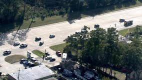 Deadly crash involving pickup truck and motorcycle on East FM 1960