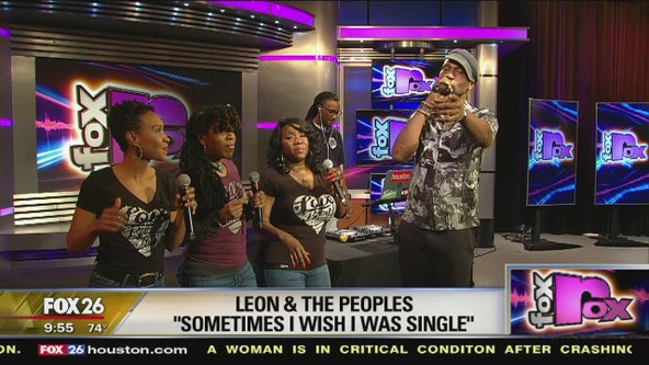 FOX ROX: Leon & the Peoples perform the band's new single