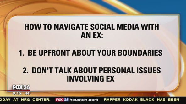 How to navigate social media with an ex