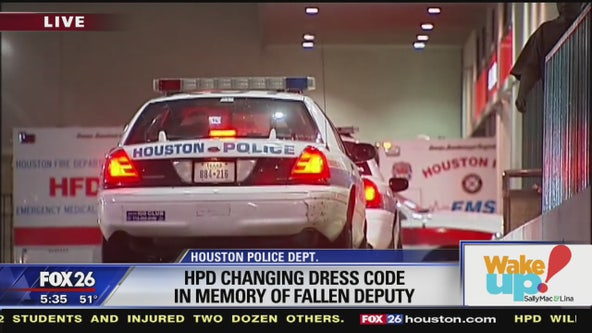 HPD changing dress code in memory of fallen deputy