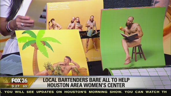 Meet the Houston bartenders baring all for charity