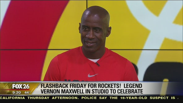 Flashback Friday for the Houston Rockets highlights Vernon Maxwell