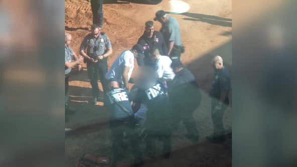 Teen breaks legs jumping off of jet bridge to avoid arrest