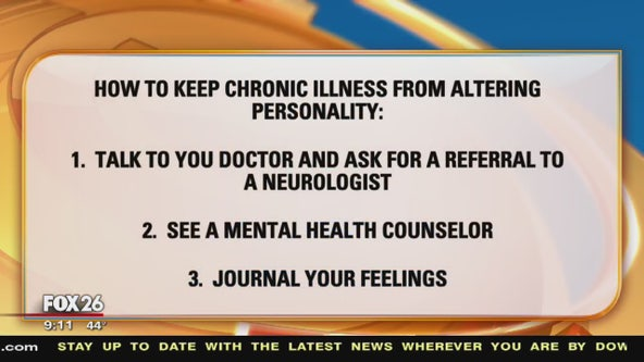 How to keep chronic illness from altering personality