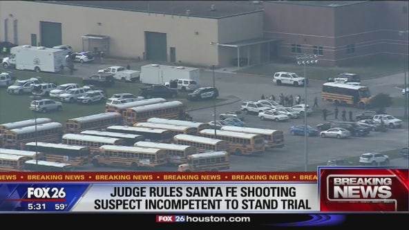 Defendant found incompetent to stand trail in Santa Fe High School shooting