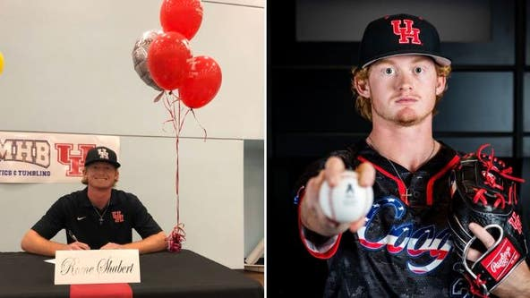 Teen shot in head at Santa Fe HS signs to play baseball at University of Houston