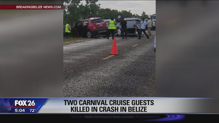 2 Carnival Cruise guests killed in crash in Belize