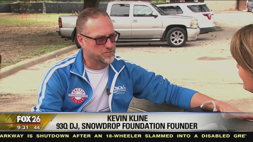 93Q's Kevin Kline running dangerous Dalton Highway for pediatric cancer research
