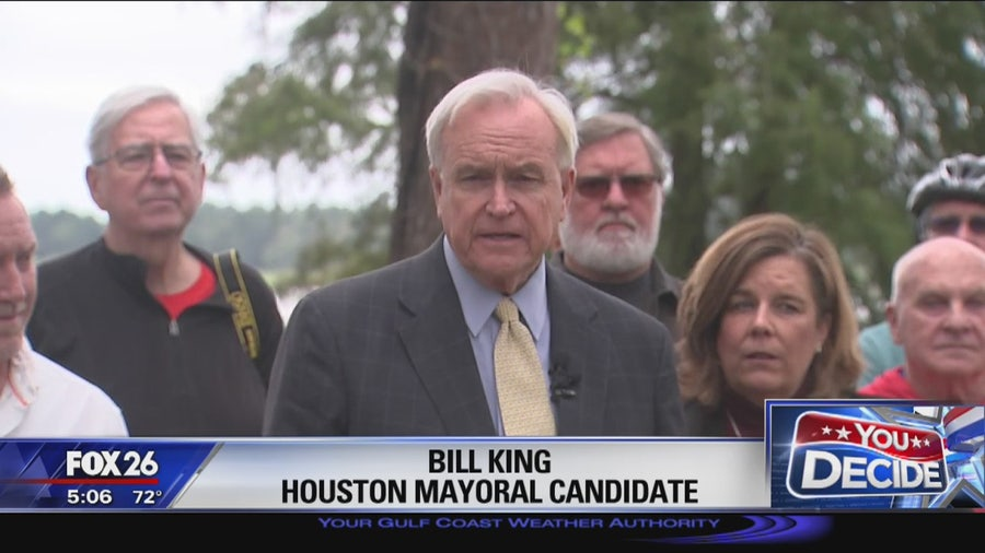 Houston mayoral candidates discuss their plans for flood mitigation ahead of election
