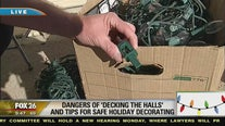 Safety tips for holiday decorating