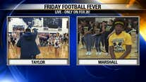 Marshall HS and Taylor HS have Friday Football Fever