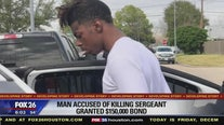 Man accused of killing sergeant granted $150,000 bond