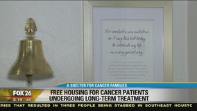 Free, long-term shelter for cancer families