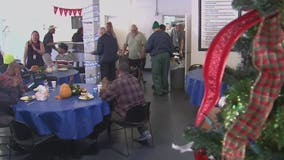 FOX 26 serves lunch at residential center for homeless veterans