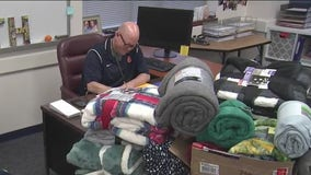 Katy teacher drives for Uber and collects blankets for the homeless