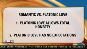 Differences between romantic and platonic love