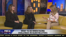 What to do when facing challenges in older relatives