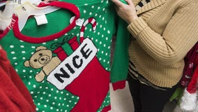 Christmas sweaters are making plastic pollution worse, environmental charity warns