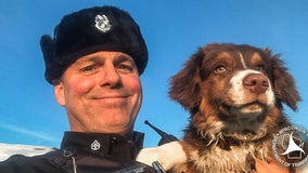 Wisconsin state trooper uses drone to find dog missing after car crash