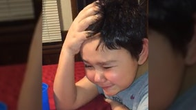WATCH: 9-year-old boy is cancer-free, breaks down in tears after his last chemo treatment